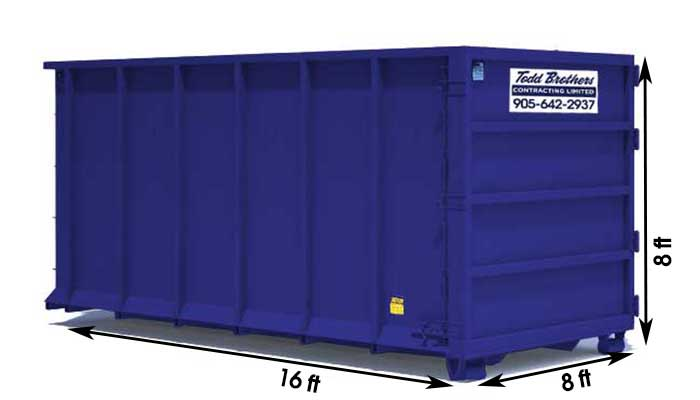 40 yard disposal bin for junk and waste removal Stouffville